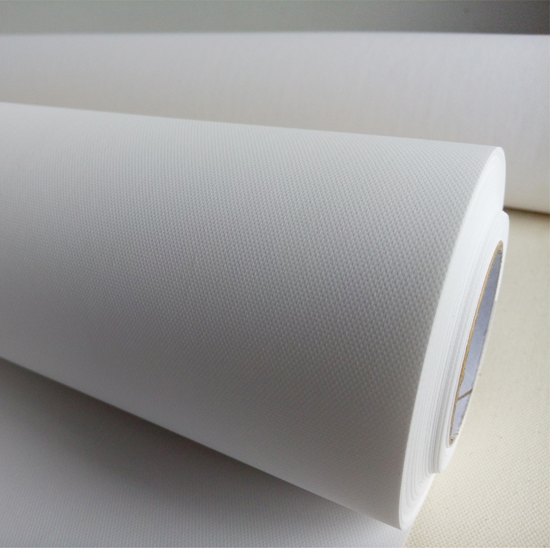Back To Search Resultsoffice & School Supplies Painting Supplies Whoelsale 42*30m 4 Rolls Price Inkjet Glossy Polyester Bright Canvas For Digital Printing Elegant Shape