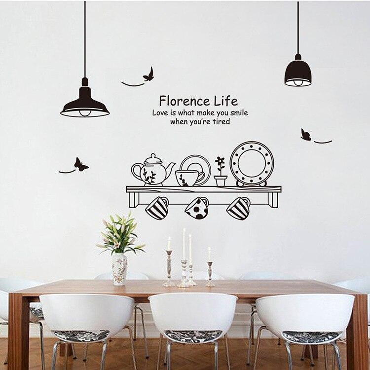 nouvelle salle à manger cuisine stickers muraux décoration de la
