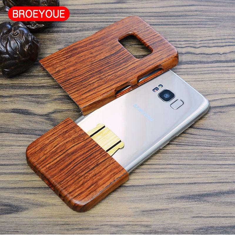 BROEYOUE Case for Samsung Galaxy S8 S9 S5 S7 S6 Edge Plus Նշում - Բջջային հեռախոսի պարագաներ և պահեստամասեր - Լուսանկար 3