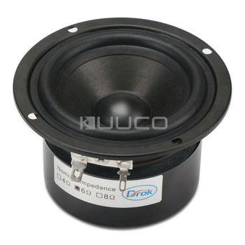 3 дюйма 6 Ом аудио динамик полный диапазон динамик антимагнитный динамик Блок 15 Вт стерео громкоговоритель для DIY динамиков