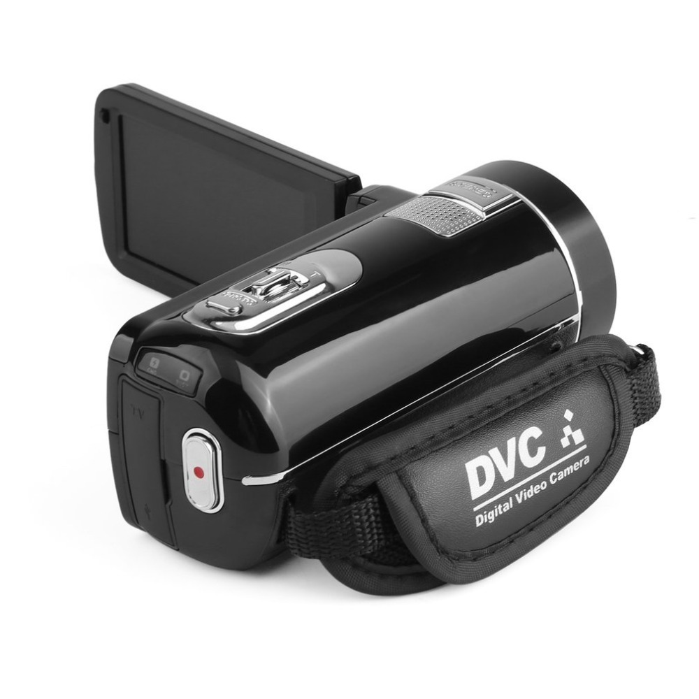 HOT Portable Vision nocturne Full HD 1920x1080 3.0 pouces 24MP écran LCD 18X Zoom numérique caméra caméscope Mini DV