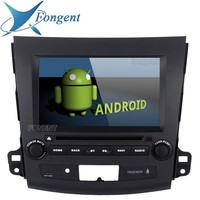 8 IPS Screen 2Din Android 9.0 Quad Core 16g Rom Car Dvd Gps Player For Mitsubishi Outlander 2007 2008 2009 2010 2011 Multimedia