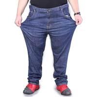 Men S Loose Straight Jeans Denim Pants Male Plus Size 50 52 54 56 58 60