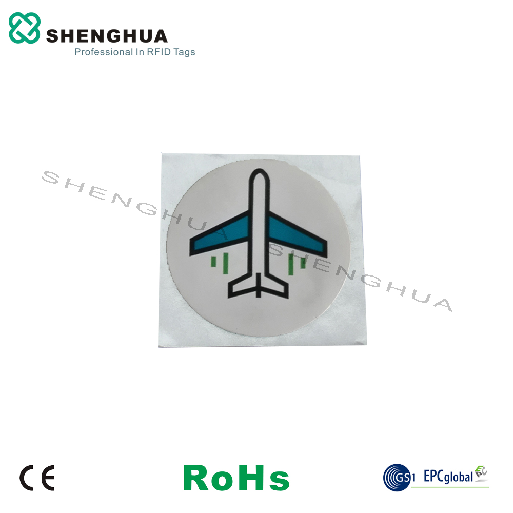 6pcs/lot Logo Printed Adhesive NFC Chip RFID Tag 13 56MHz Coin ISO 14443A  RFID Label Programmable with Lowest Price for Mobile