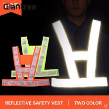 giantrree Reflective Clothes Reflective Vest Traffic Clothing Children Outdoors sport Security Fluorescent Reflective tape