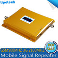 2016 Newest LCD Display GSM 900 Repeater 3G 2100 Mobile Cell Phone Signal Booster WCDMA Repeater Mobile Phone Signal Amplifier