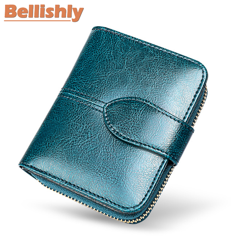 Coin Purses & Holders Coin Purses Women Crocodile Leather Clutch Handbag Bag Coin Purse Clutch Female Purse New Fashion 2019 Soild Portefeuille Femme Black Blue Latest Technology