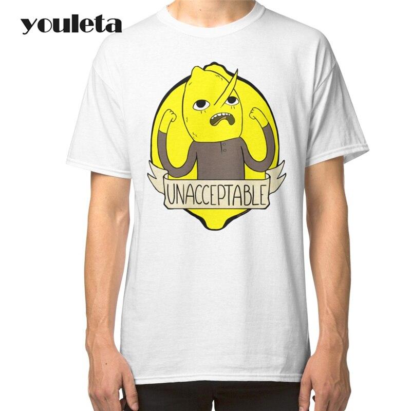 16110fbb50d 2018 Earl Of Lemongrab White Men T Shirt Top Basic Tee Print Tops 2017  Summer Funny