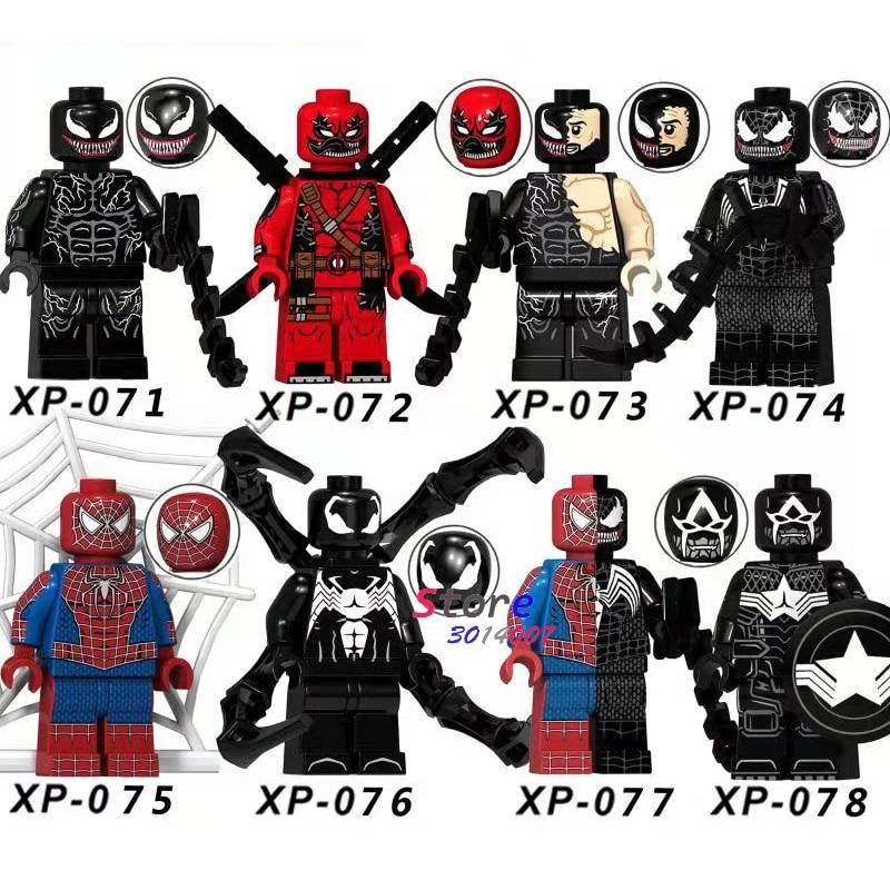 Deadpool And Spider Man 1: Single Marvel Super Heroes Venom Carnage Deadpool Spider