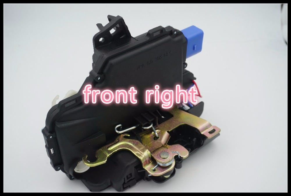 FRONT right Door Lock Actuator FOR VW NEW BEETLE POLO 9N TRANSPORTER t5 SKODA FABIA ROOMSTER SUPERB SEAT CORDOBA (6L) IBIZA