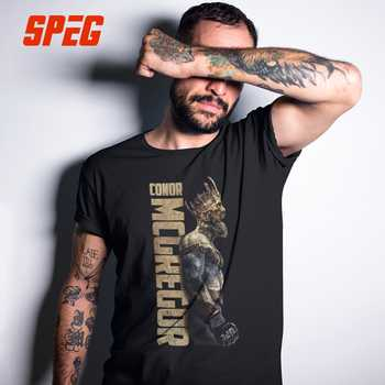 SPEG The King Of Conor McGregor MMA Notorious T Shirt Men Short Sleeve Tops 100% Cortton Tee O Neck Clothes Male Vintage T-Shirt - DISCOUNT ITEM  39% OFF All Category
