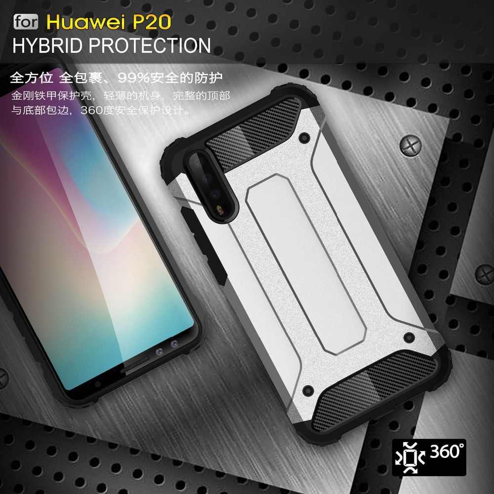 Capa de celular tipo armadura, capa de celular à prova de choque spara huawei p20 pro huawei p20 pro plus p20pro CLT-L09 CLT-L29 capa de cobertura