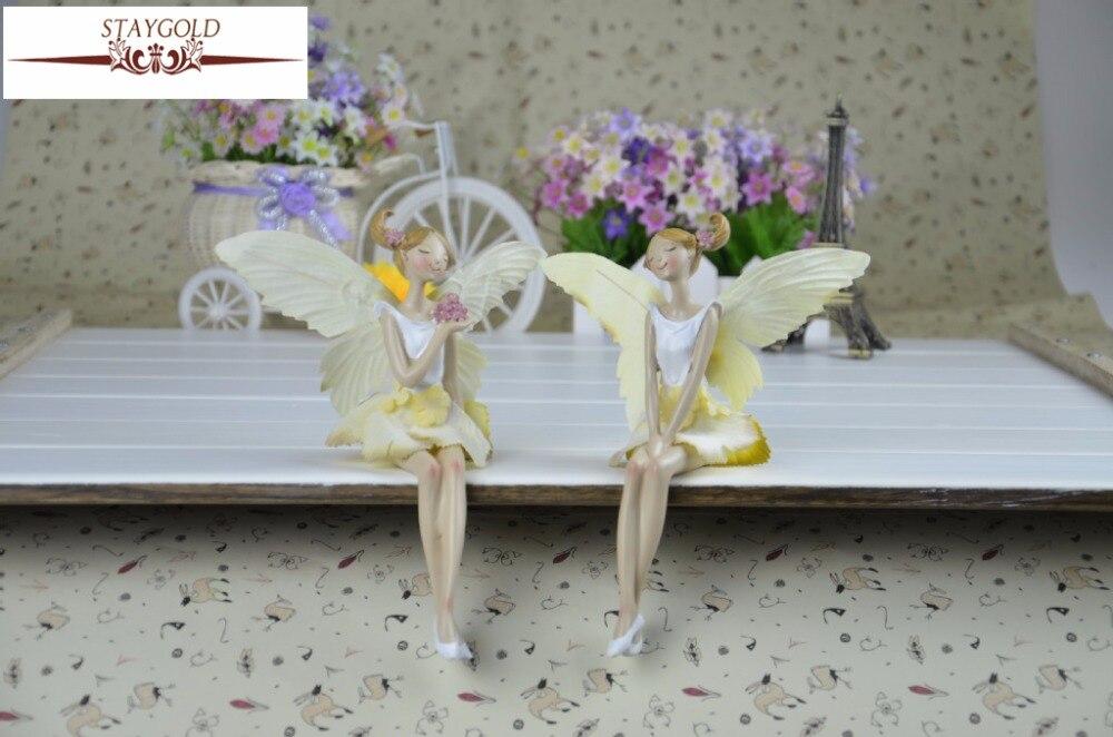 ღ Ƹ̵̡Ӝ̵̨̄Ʒ ღKawaii Jardin Décoration Pastorale Élégant Fleur Ange ... e25c9ca53b2