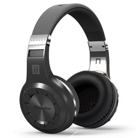 Bluedio H+ H Plus Wireless Bluetooth Headset Super Bass Music Headphone with Line in Socket Mic FM Radio and SD card