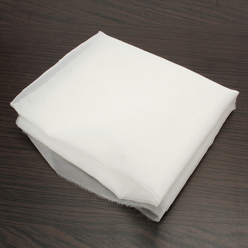 Nylon Filtration 120 Mesh 125 Micron Fabric Water Liquid Strain Polyester Cloth Filter Bag For Milk Hops Tea Brewing Food