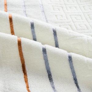 Image 5 - Plaid 100% Katoenen Gezicht Hand Badhanddoek Set voor Volwassen Badkamer 650g 3 stks/set Handdoek Sets Freeshipping