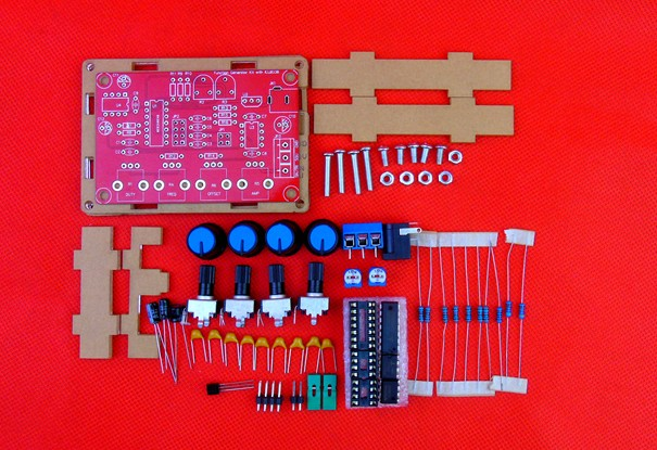 12V ICL8038 Funktion Signal Generator Sinus Dreieck Welle DIY Kit High Speed