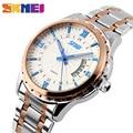 SKMEI 9069 Quartz Watch Men Fashion Casual Full Steel Auto Date Water Resistant  Wristwatches Relogio Masculino