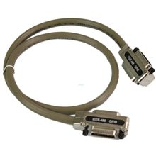 New 3Ft Adapter for IEEE 488 GPIB Cable Metal Connector Dropshipping