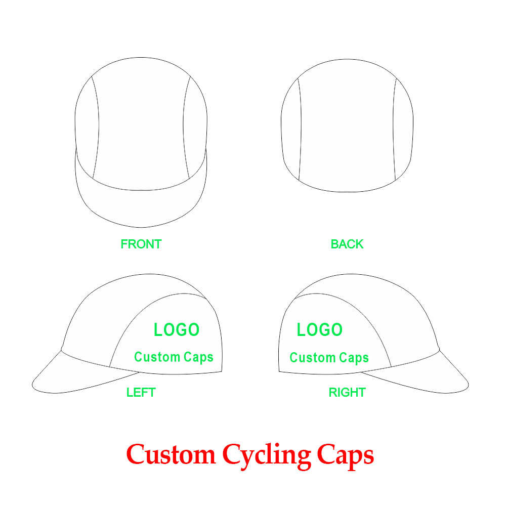 e723d84c14b76 Custom Cycling Cap Customize Bicycle Hat Cycling Hat Skull Caps 100%  Polyester Bike Headband Cycling
