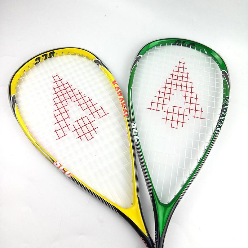 Official Karakal Professional Training Match Game 130g SLC Carbon Fiber Squash Racket For Players Learners raquete de squash
