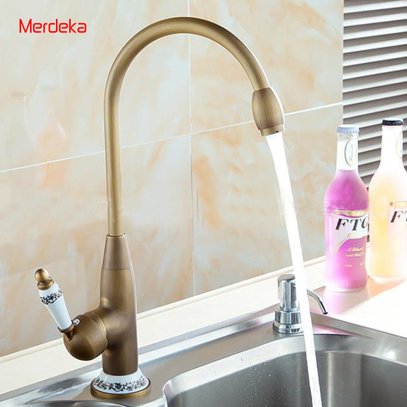 High Body Round Hot Cold Water Basin Faucet Vanity Sink Mixer Bathroom Tapware Antique Copper For Sink Bathroom black brass vanity sink pull out faucet basin mixer hot and cold water for bathroom toilet kitchen
