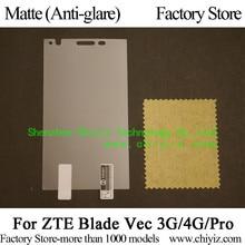 Matte Anti glare Screen Protector Guard Cover protective Film For ZTE Blade Vec 3G 4G Pro