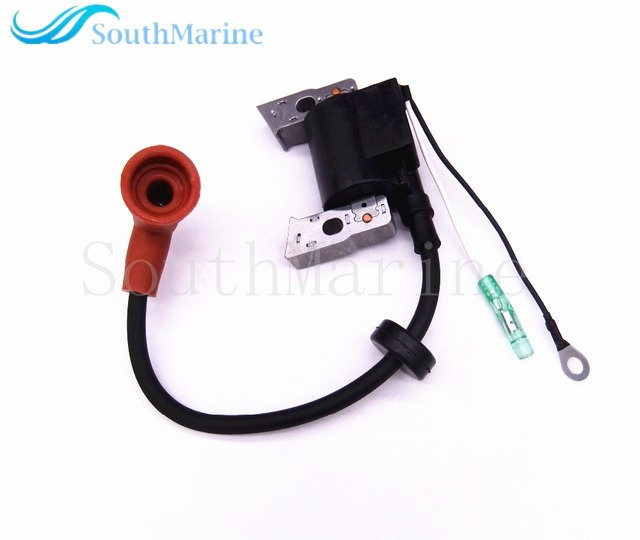 Boat Motor Ignition Coil F4-04000038 for Parsun HDX 4-Stroke F4 F5 BM Outboard Engine, Ignition Winding Assy