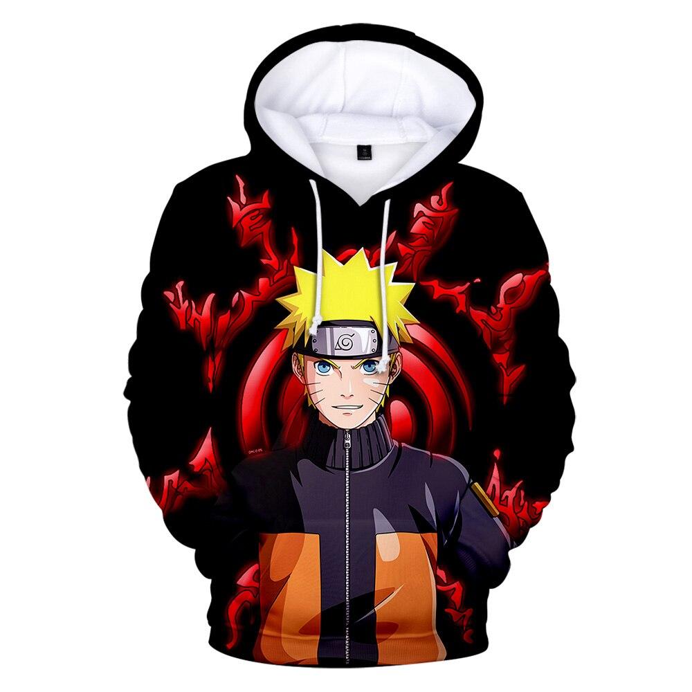 Naruto 3D Hoodies Men Women Autumn Winter Hipster Boy/girl Harajuku Print 3D Naruto Hoodies Personalized Sweatshirt