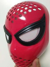19 Cosplay The Amazing Spider-Man 2 Spider Helmet spiderman homecoming Faceshell With Lenses Spiderman Mask