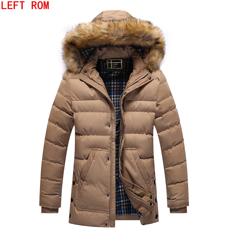 New men's casual cotton padded clothes Warm down jacket in winter Thickening men's brand coat Hooded down jacket Overcoat  new obese men hooded down jacket in winter jacket coat plus size7xl8xl cotton padded clothes to keep warm and high quality coat