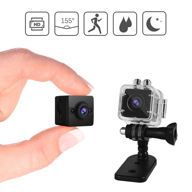 SQ12 Mini Camera Full HD 1080P Secret Camera IR Night Vision Mini DVR Digital Small Video DV Camcorder Old Version SQ13
