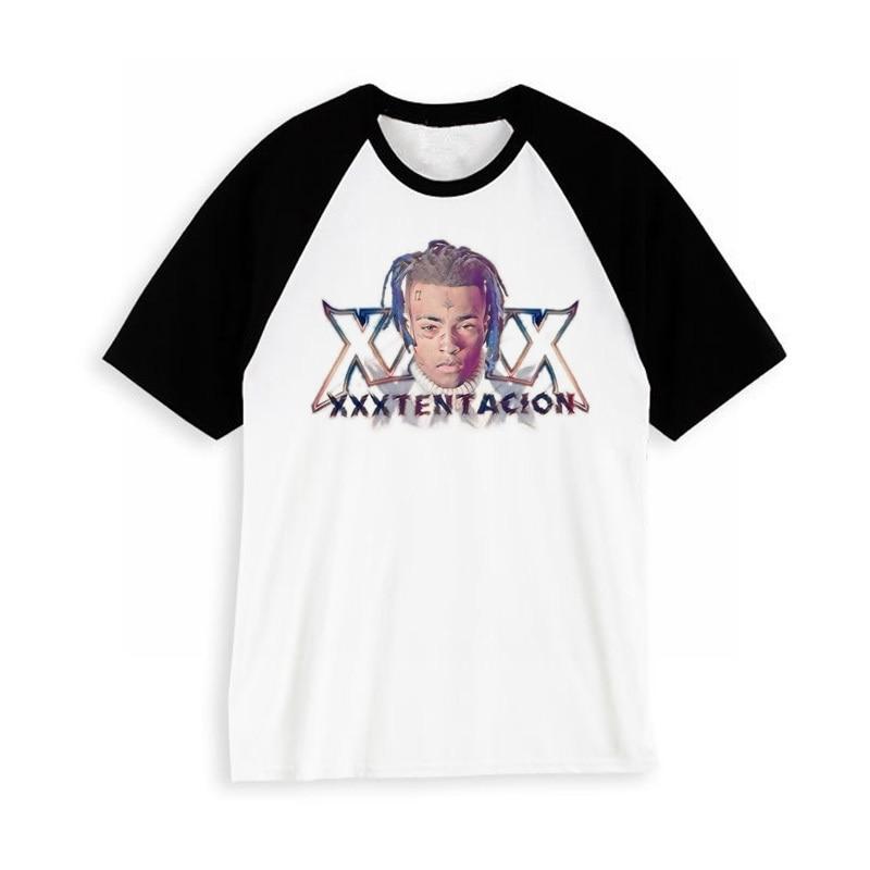 Xxxtentacion rip Character Print RIP T-Shirt Fashion Casual Fitness Cool O-neck Mens T Shirt Summer Short Sleeve Men Clothing