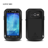 LOVE MEI Metal Aluminum Case Cover For Samsung Galaxy A8 A8000 Powerful Shockproof Life Waterproof Dirtproof