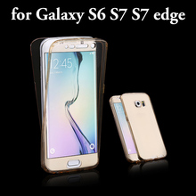 500x Ultrathin Transparent Soft GEL TPU Flip Cover Case For Samsung Galaxy s8 plus J5 A5 s5 S6 S7 EDGE Full Body Protective case protective flip open pc tpu back case w display window for samsung galaxy s5 blue
