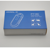 Free Shipping ISO11785 84 FDX B Pet Microchip Scanner Animal RFID Tag Reader Dog Reader Pig