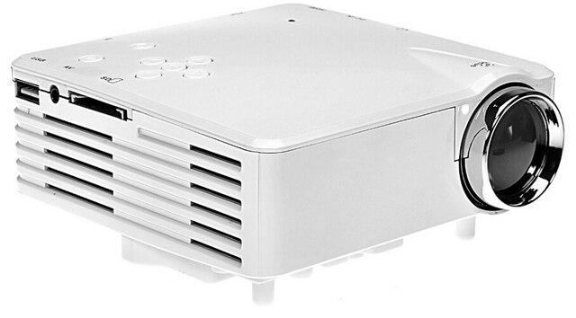 2016 Venta Caliente Sistema de Imagen LED Proyector Multimedia HD 1080 P H80 Mini LCD Digital Video Game Proyectores Multimedia Jugador