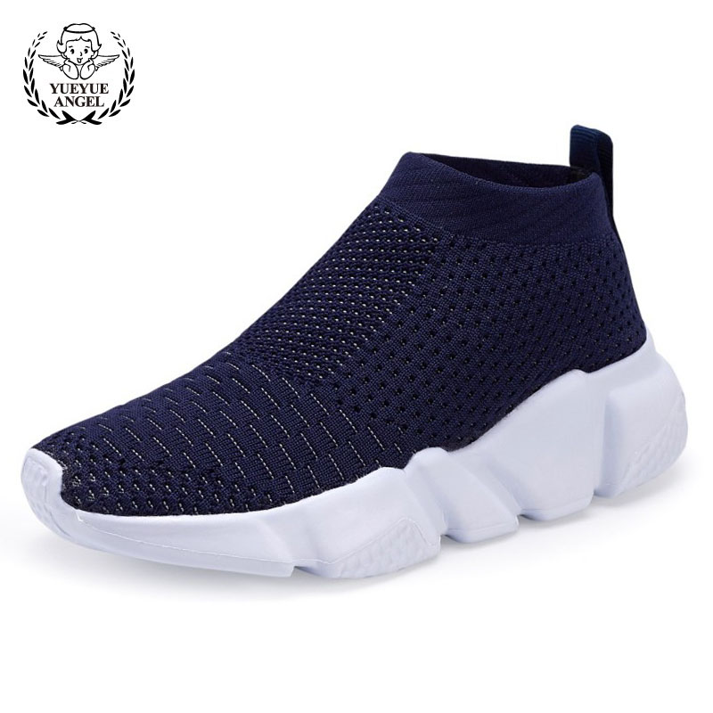 2018 Summer Unisex Girl Boys Breathable Mesh Slip On Loafers Brand Antiskid Platform Casual Sneakers Kid Footwear High Top Shoes girl and boy loafers shoes sneakers slip on girls winter kid casual boys shoe black breathable children flats sporting shoes