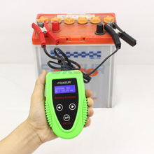 Foxsur 12 В цифровой Батарея Анализатор автомобилей Батарея тестер профессиональный инструмент диагностики для свинцово-кислотная Батарея cca ИК SOH измерения