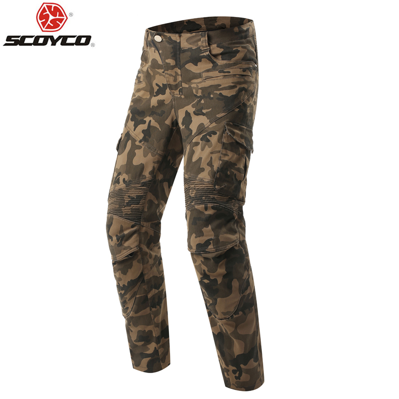 Scoyco P043 protective jeans knee protector Rider pants Motorcycle racing trousers Leisure pantalones moto Blue black