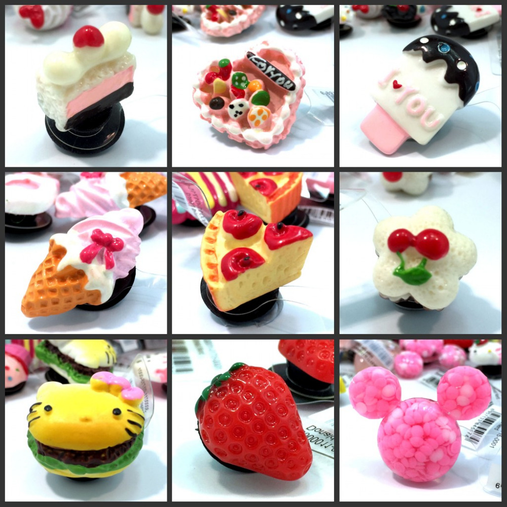 Wholesale 500pcs Resin Shoe Charms Cake Ice Cream & Pastry with Soft Buckle,Shoe Accessories Party Decoration Gift Free DHL guilin guangxi hong source specialty rose flowers cake 240g6 gold handmade flower cake pastry boxed 2 boxes