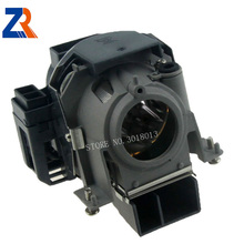 ZR 100% New Original Projector Lamp With Housing Modle  NP02LP For NP40 / NP50 / NP40G / NP50G Projectors