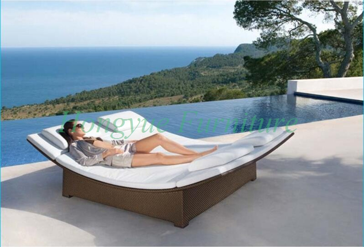Online buy wholesale outdoor furniture double lounger from for Swimming pool ausverkauf