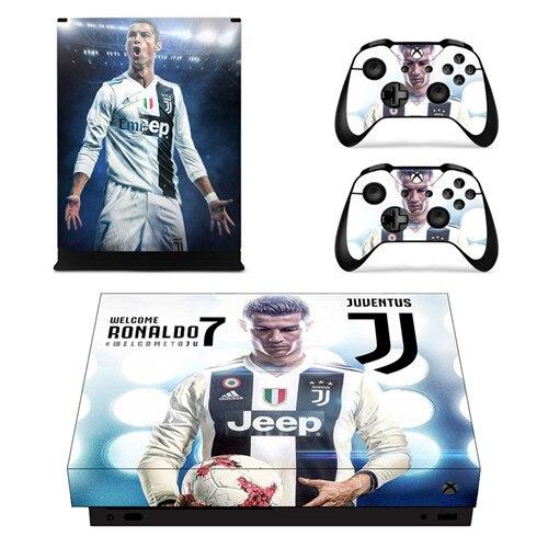 Video Game Accessories Ps4 Slim Console Skin Cristiano Ronaldo Juventus Fc Vinyl Decals Skin Stickers Always Buy Good