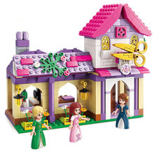 Princess Leah 2605-2606 Building Block Compatible Legoed Girls Friends Series Doll Castle Bricks Assembly Toy for Kid Lovely Gif(China)