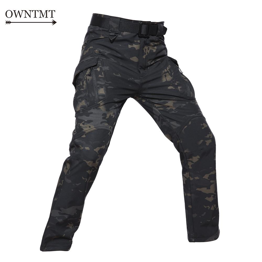 Consegna Veloce Tad Ix9 Pelle Di Squalo Softshell Pantaloni Militari Tattici Degli Uomini Di Caccia Cargo Pants Uomo Impermeabile In Pile Caldo Pantaloni Da Combattimento 5xl Materiali Di Alta Qualità