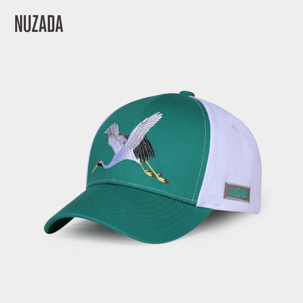 NUZADA Snapback Cotton Men Women Couple   Baseball     Cap   High Quality Embroidery Original Design Spring Summer Hat Bone   Caps