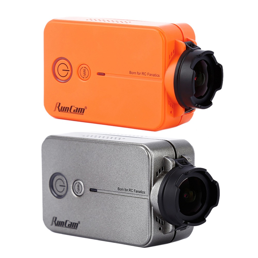 Runcam 2 RunCam2 Ultra HD 1080 p 120 Бесплатная 16 г SD Широкий формат WiFi link видеокамеры FPV Камера для QAV210 Quadcopter Racing Drone RC