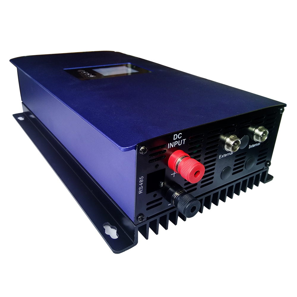 1000W MPPT Solar Grid Tie Inverter With Limiter Sensor DC 22-60V AC 110V 120V For PV Connected Pure Sine Wave Power Inverter цена