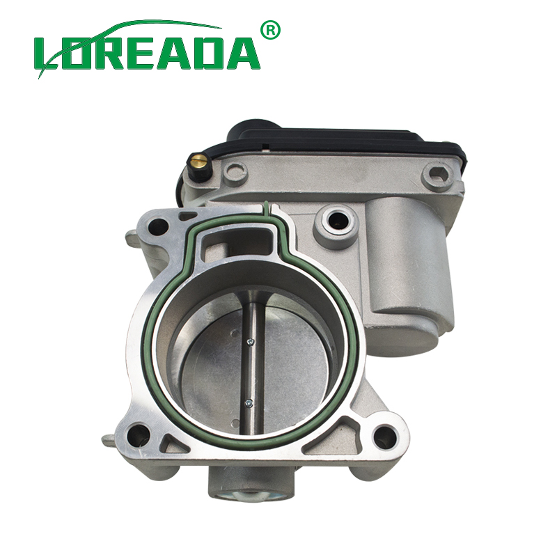 LOREADA Electronic Throttle Body 1556736 VP4M5U9E927DC 4M5GFA 4M5GED 4M5G9F991FA fits to Ford  Mondeo WLR6701 fiesta st 150